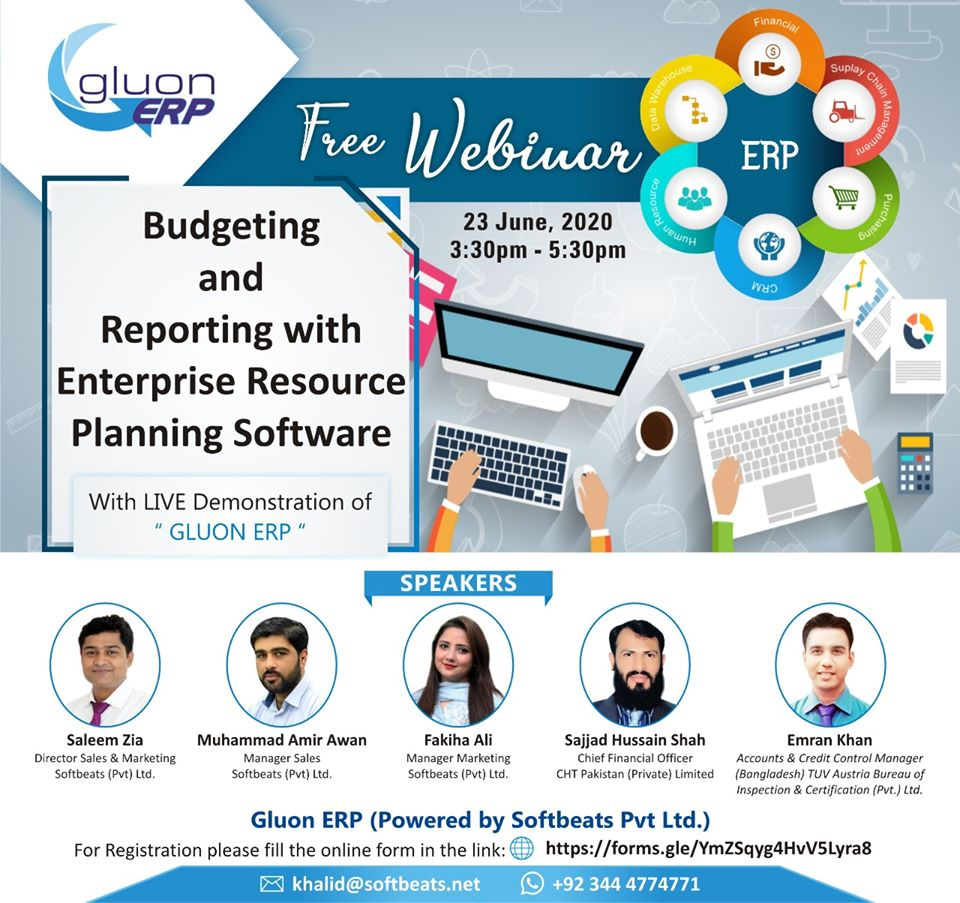 "Softbeats successfully conducted a Webinar on ""Budgeting & Reporting..."